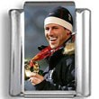 Chad Hedrick Olympic Photo Charm